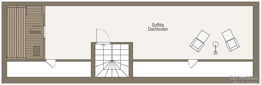Soffitta - Dachboden