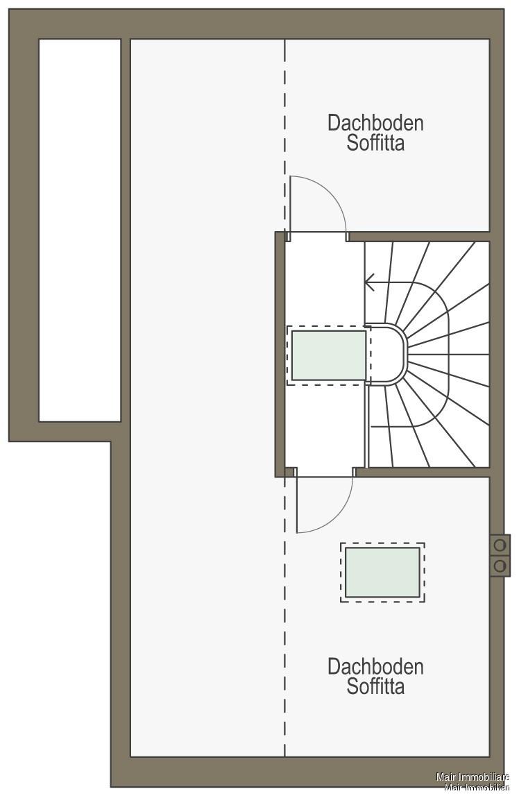 Soffitta - Dachgeschoss