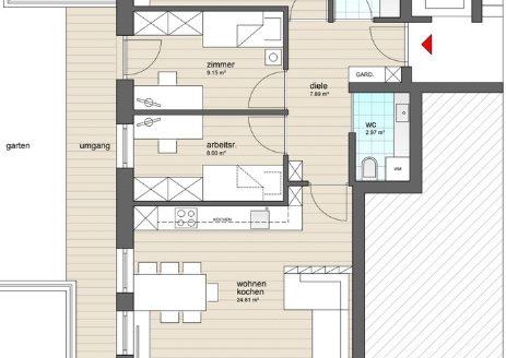 App. n. 1 - Wohnung Nr. 1