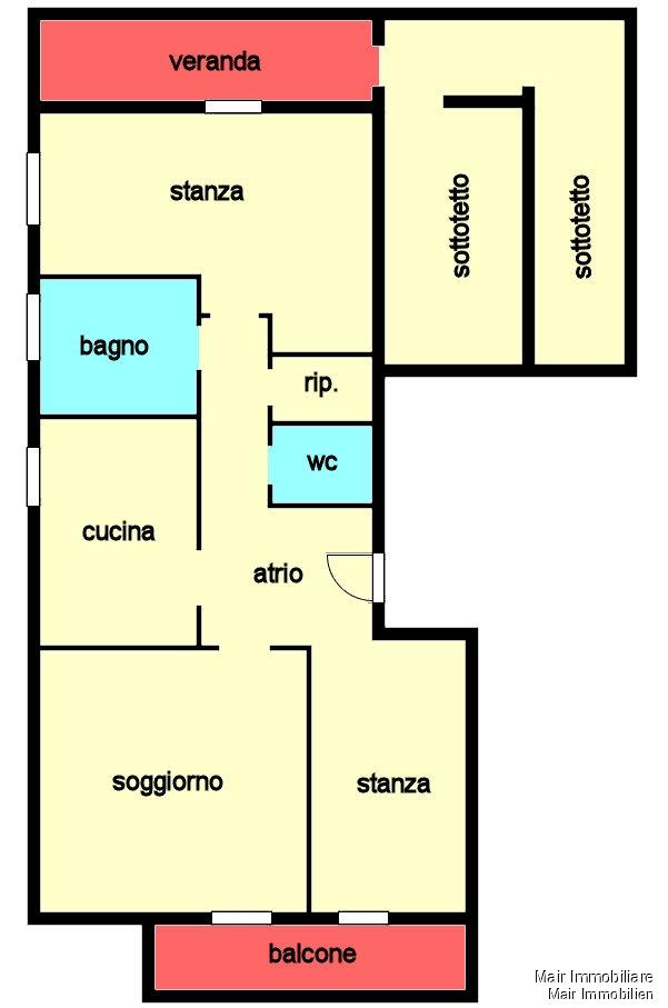 Piantina - Plan